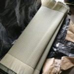 畑野さんの「無一物」を使った畳の新調製作〜